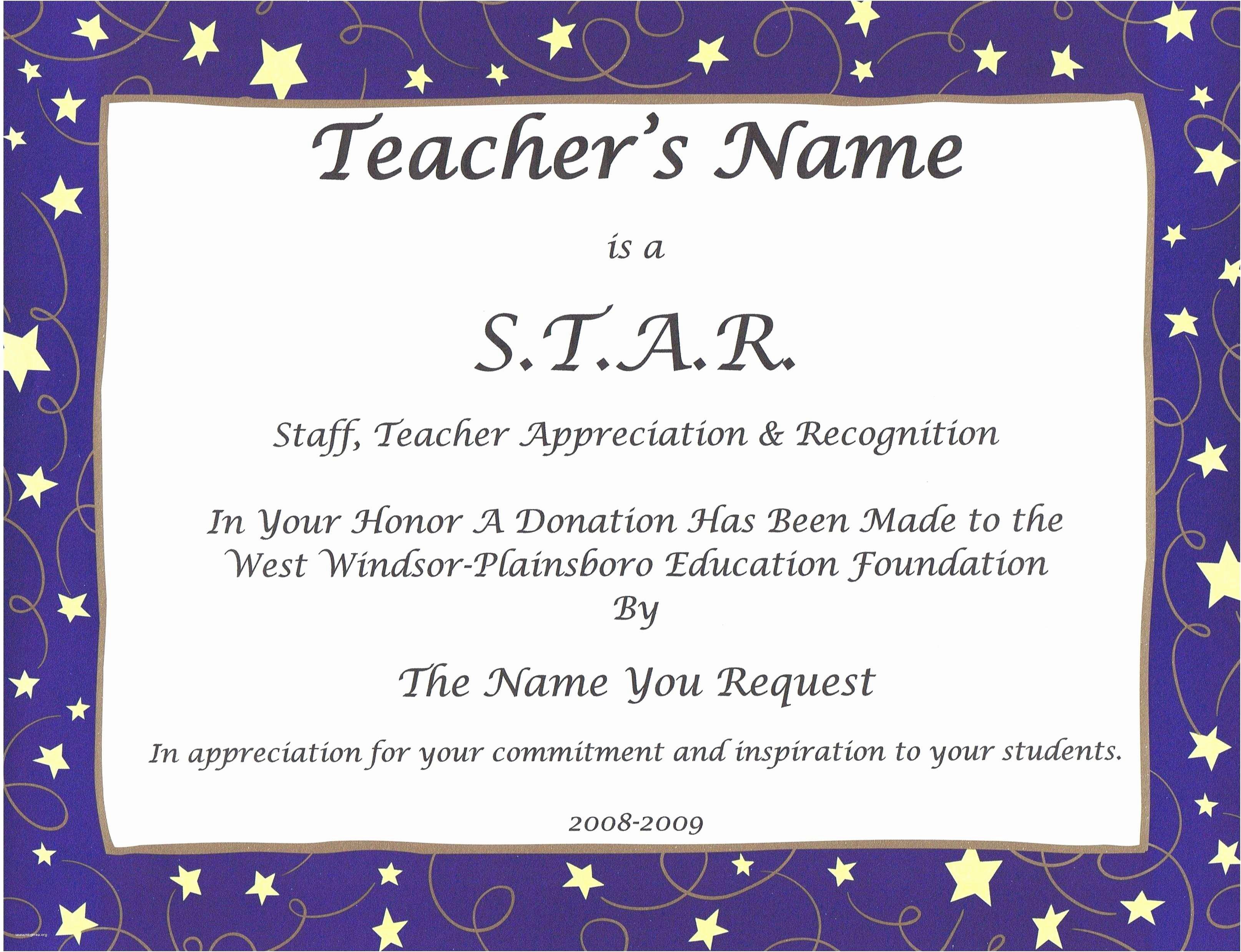 Google Docs Certificate Of Appreciation Luxury Teacher Appreciation Certificate Financial Letter Sample