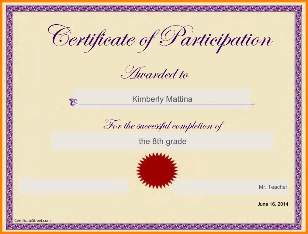 Google Docs Certificate Of Appreciation Unique Certificate Template Google Docs
