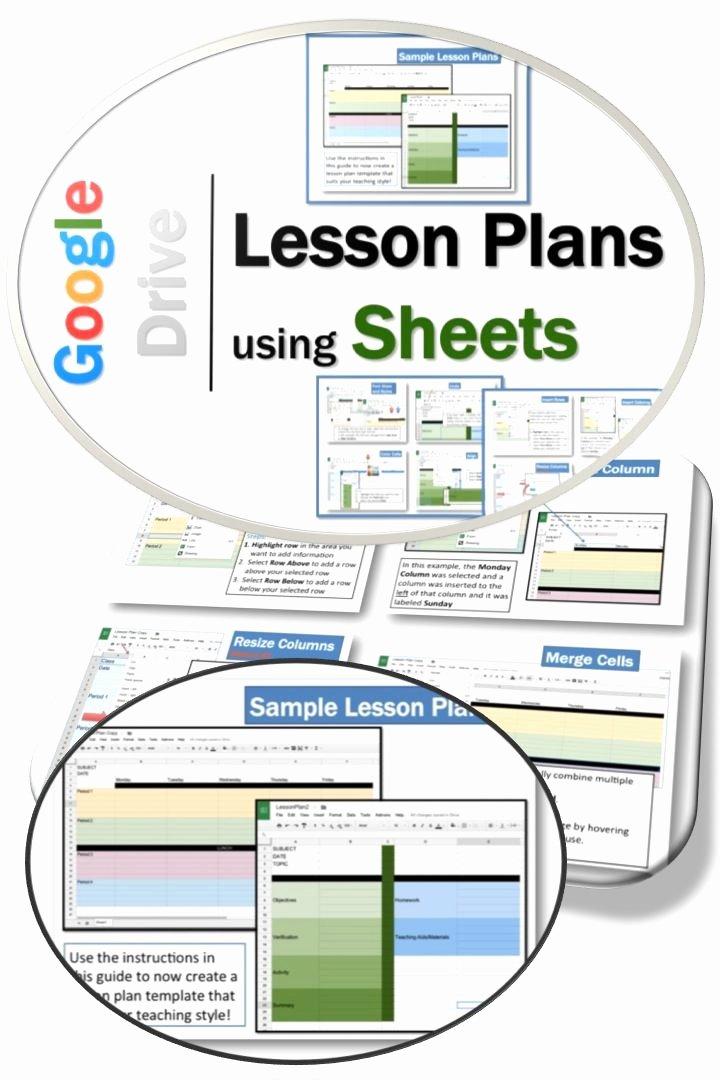 Google Docs Lesson Plan Template Unique 272 Best Images About Homeschool Planner On Pinterest