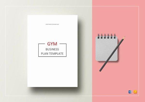 Google Drive Business Plan Template Inspirational 16 Gym Business Plan Templates Google Docs Ms Word