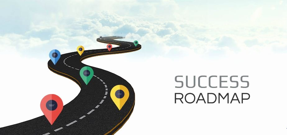 Google Drive Business Plan Template Lovely Success Roadmap Presentation Template