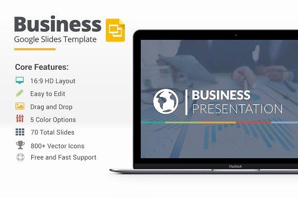 Google Drive Business Plan Template Unique Business Google Slides Template Presentation Templates