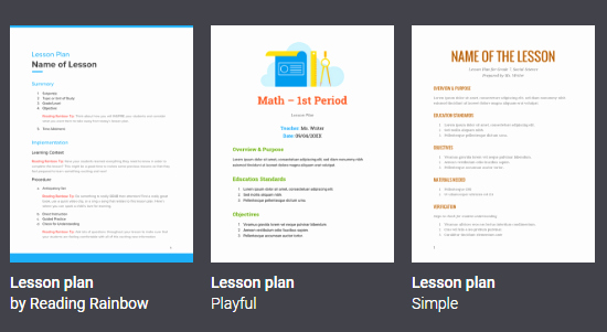Google Drive Lesson Plan Template Luxury Creating and Improving Lesson Plans with the Help Of Free
