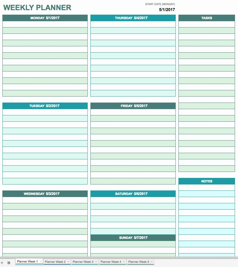 Google Drive Meal Plan Template Awesome Free Printable Daily Calendar Templates