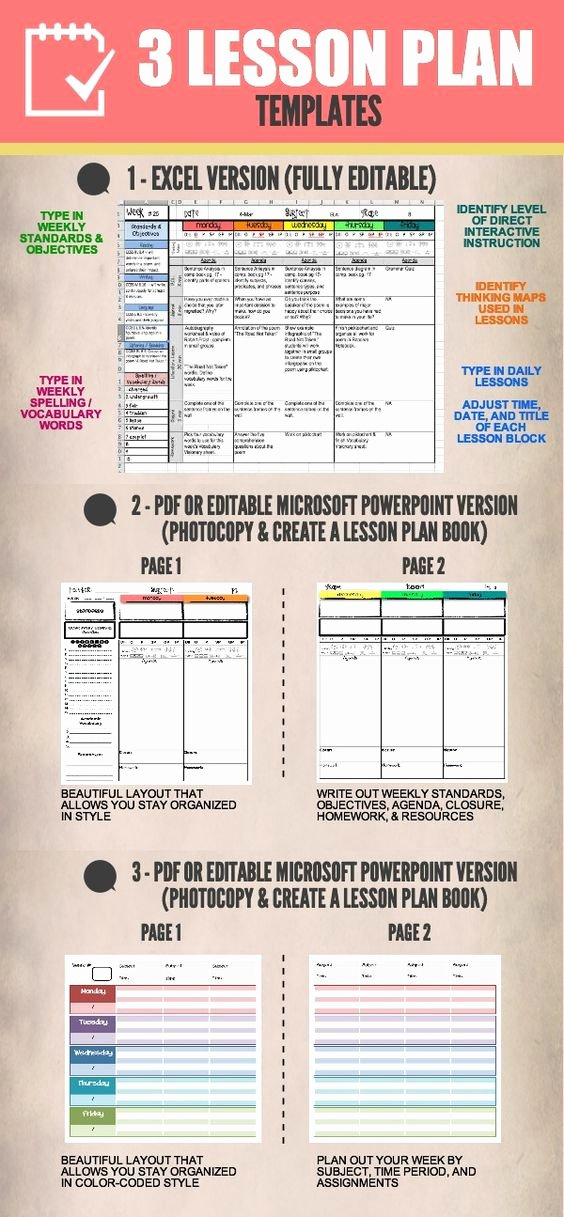 Google Lesson Plan Template Inspirational Lesson Plan Templates Multiple Editable Templates