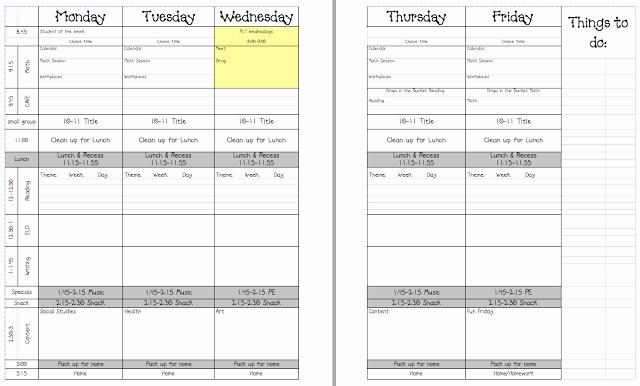Google Sheets Lesson Plan Template Fresh Lesson Plan Template Google Docs