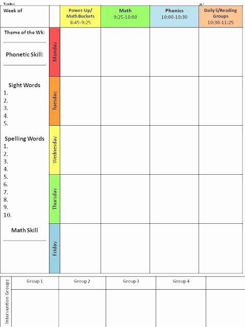 Google Sheets Lesson Plan Template Inspirational I Started Using This Editable Lesson Plan Template Last