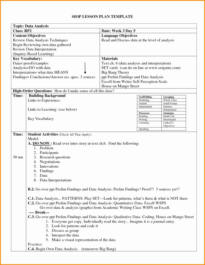 Gradual Release Lesson Plan Template Best Of Gradual Release Lesson Plan Template 27 Best Gradual