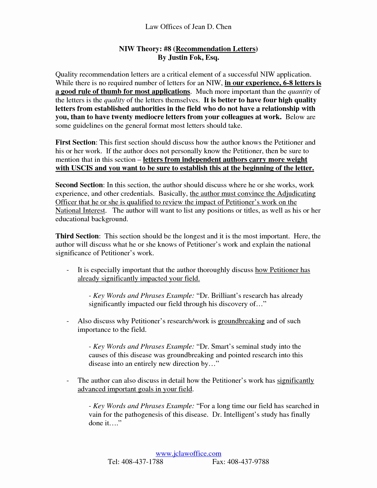 Green Card Recommendation Letter New Uscis Letter Re Mendation Sample Cover Letter
