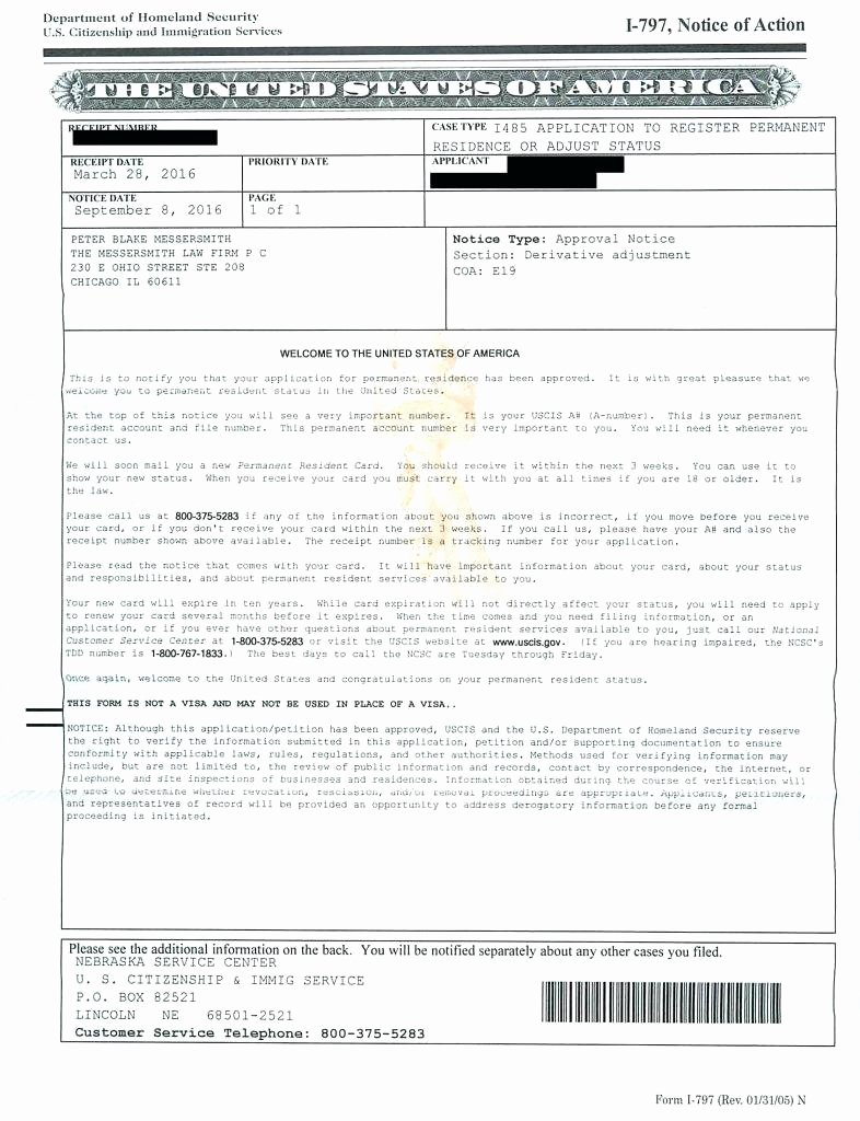 Green Card Recommendation Letter Sample Beautiful Uscis form I 539 New forms G New Sponsor Letter for Copy