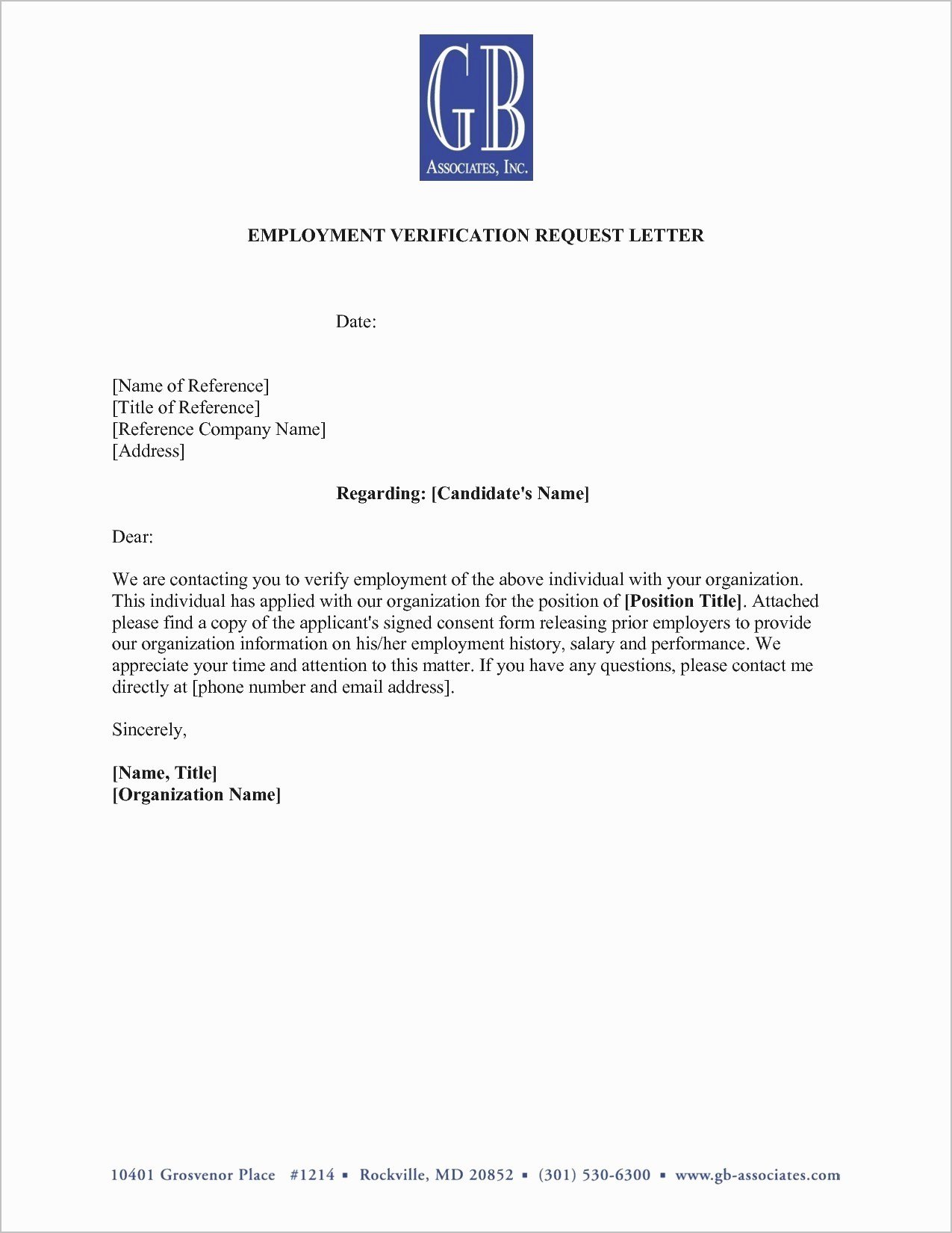 Green Card Recommendation Letter Sample Best Of New Employment Verification Letter Sample for Green Card