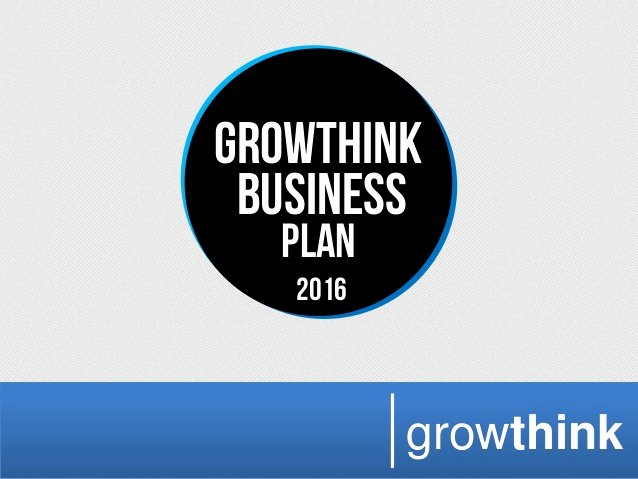 Growthink Business Plan Template Lovely Growthink Business Plan