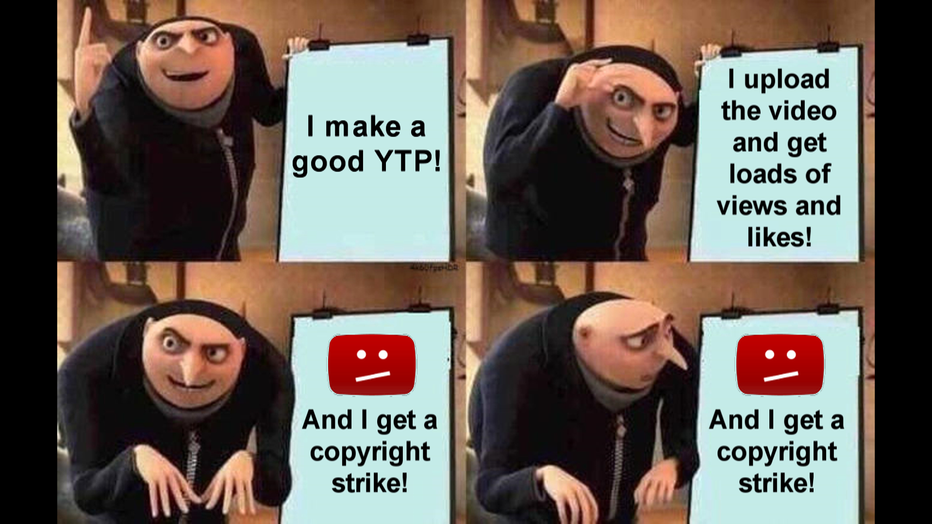 Gru Plan Meme Template Awesome Poop In A Nutshell Gru S Plan