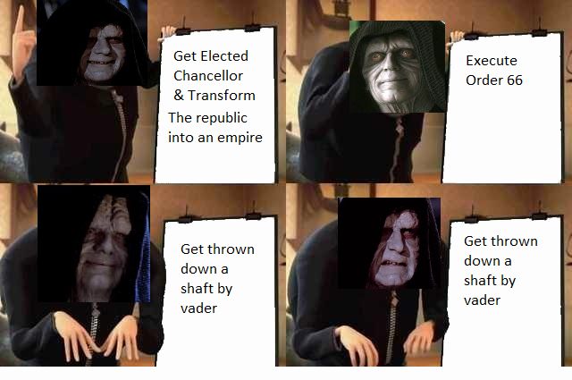 Gru Plan Meme Template Fresh Palpatines Plan Gru S Plan