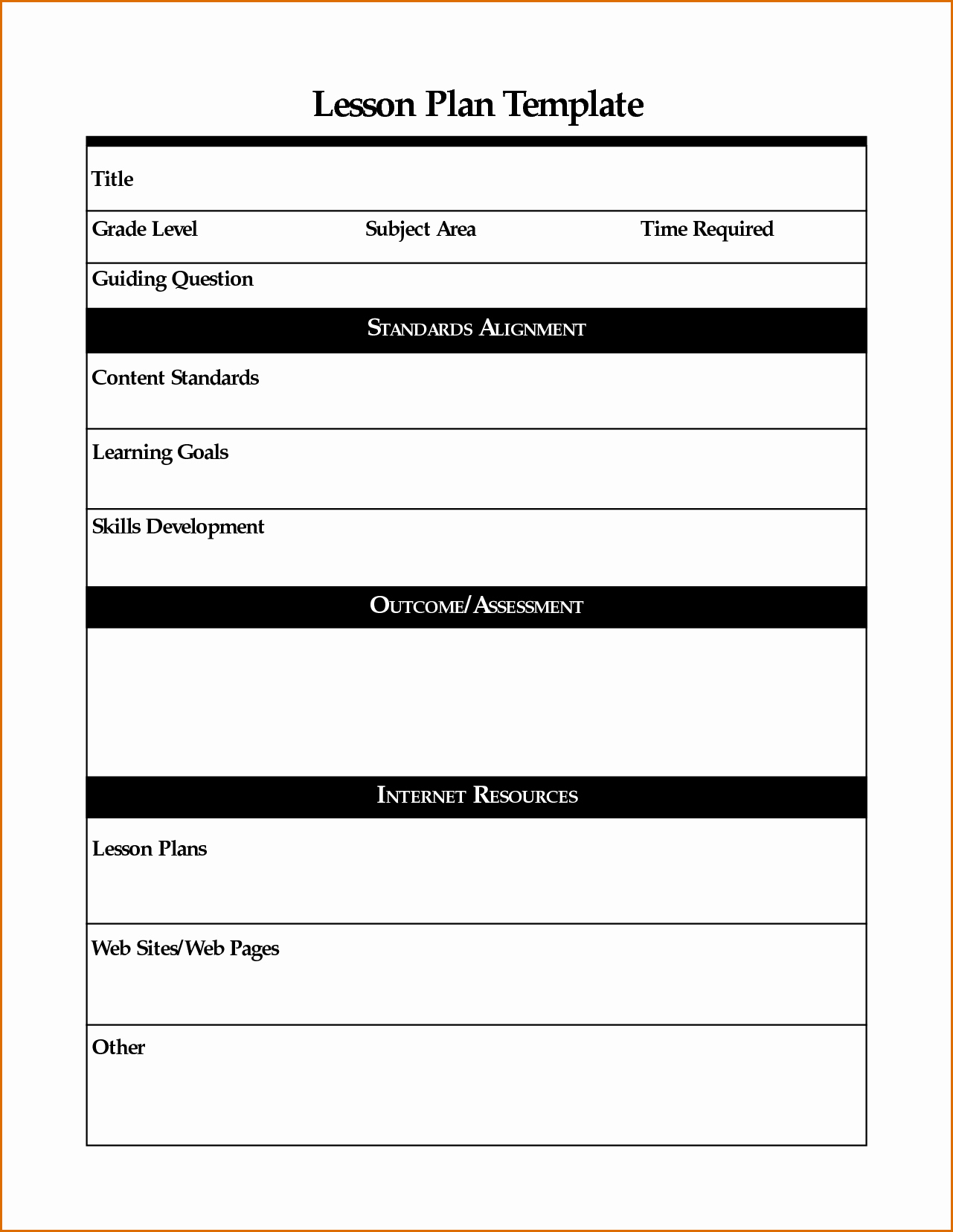 Gru's Plan Meme Template Inspirational 7 Lesson Plans Template