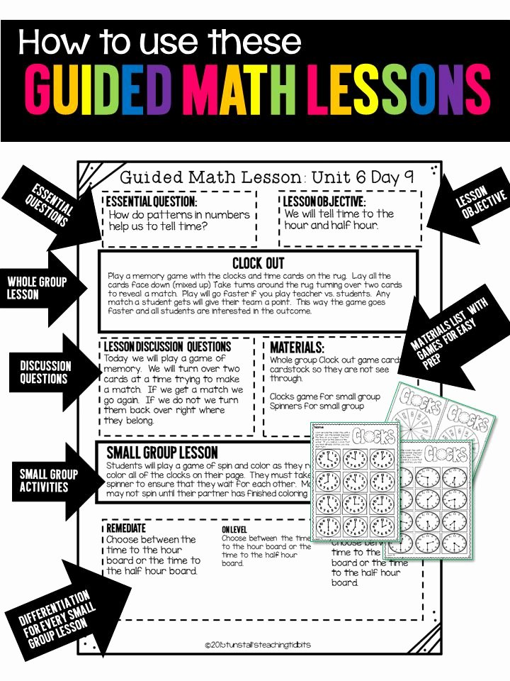 Guided Math Lesson Plan Template Inspirational 1000 Ideas About Lesson Planning On Pinterest