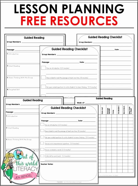 Guided Reading Lesson Plan Template New Best 25 Guided Reading Lesson Plans Ideas On Pinterest