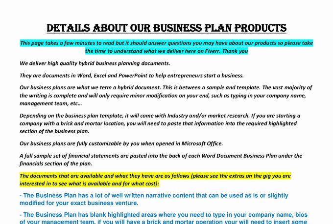 Gym Business Plan Template Fresh Supply A Fitness Center Gym Business Plan