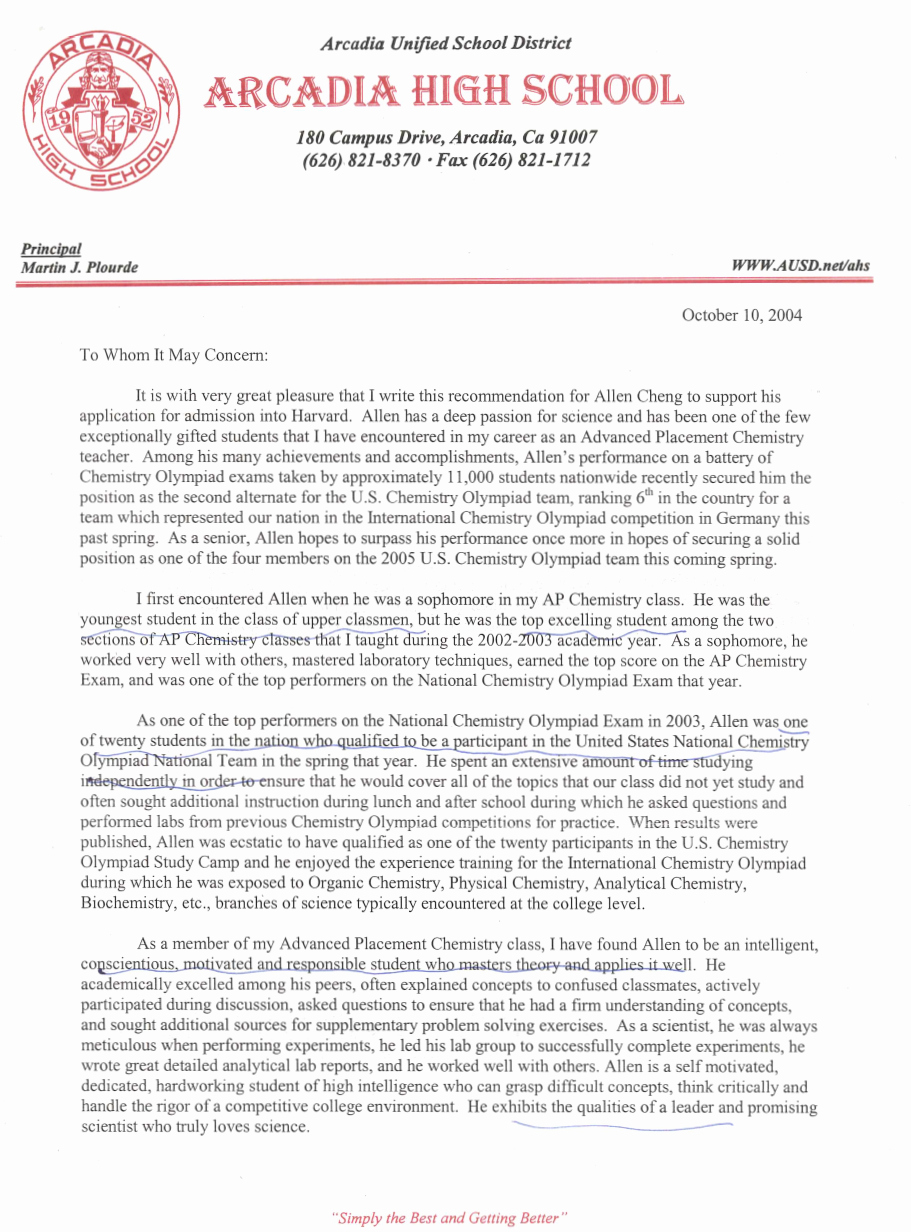 Harvard Letter Of Recommendation Unique these 2 Re Mendation Letters Got Me Into Harvard and the