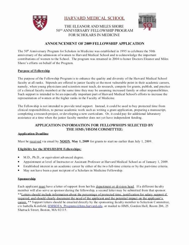 Harvard Mba Recommendation Letter Elegant Med School Letters Re Mendation Letter format