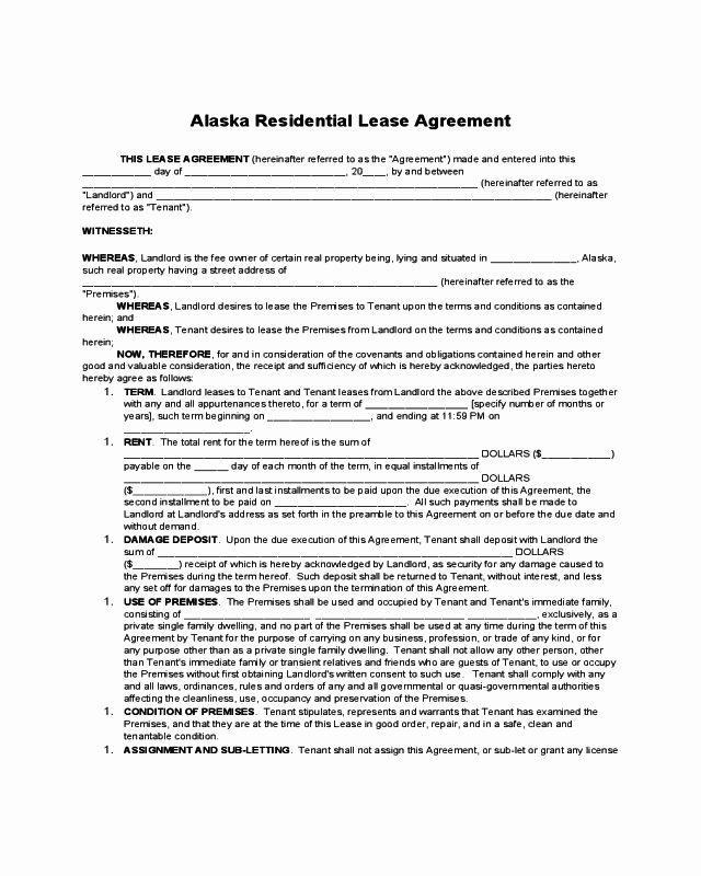 Hawaii Rental Agreement Fillable Best Of 2019 Residential Lease Agreement Fillable Printable Pdf