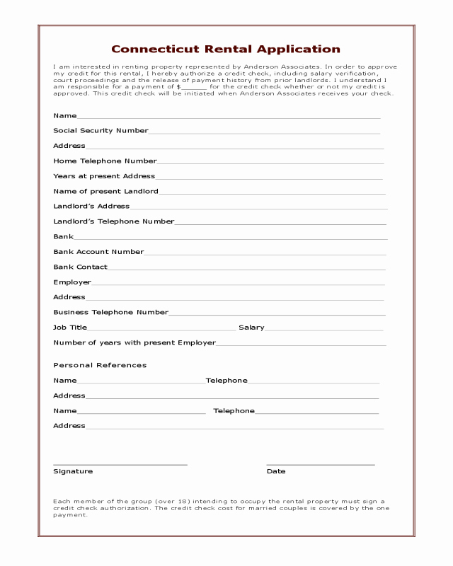 Hawaii Rental Agreement Fillable New 2018 Rental Application form Fillable Printable Pdf