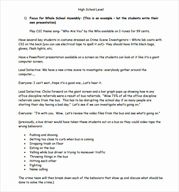 High School Lesson Plan Template New 10 Sample High School Lesson Plans