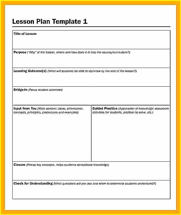 High Scope Lesson Plan Template New Creative Curriculum Preschool Lesson Plan Template Google
