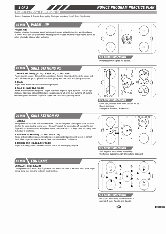 Hockey Practice Plan Template Best Of 19 Practice Plan Templates Free to In Pdf