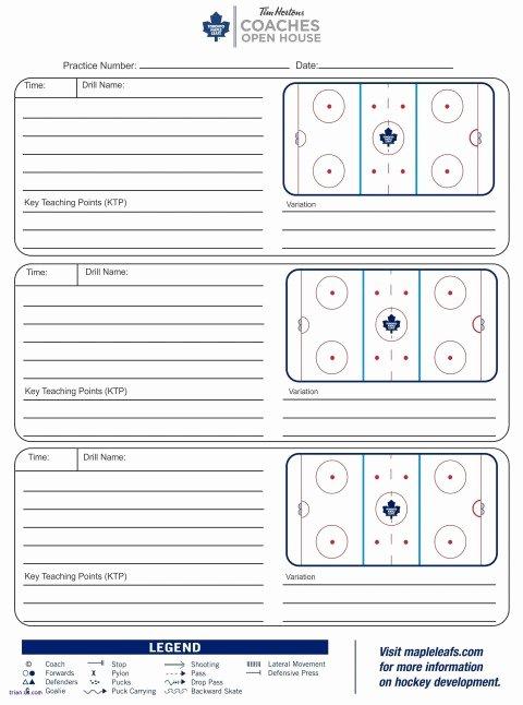 Hockey Practice Plan Template Luxury 022 Plan Template Hockey Practice Usa Football