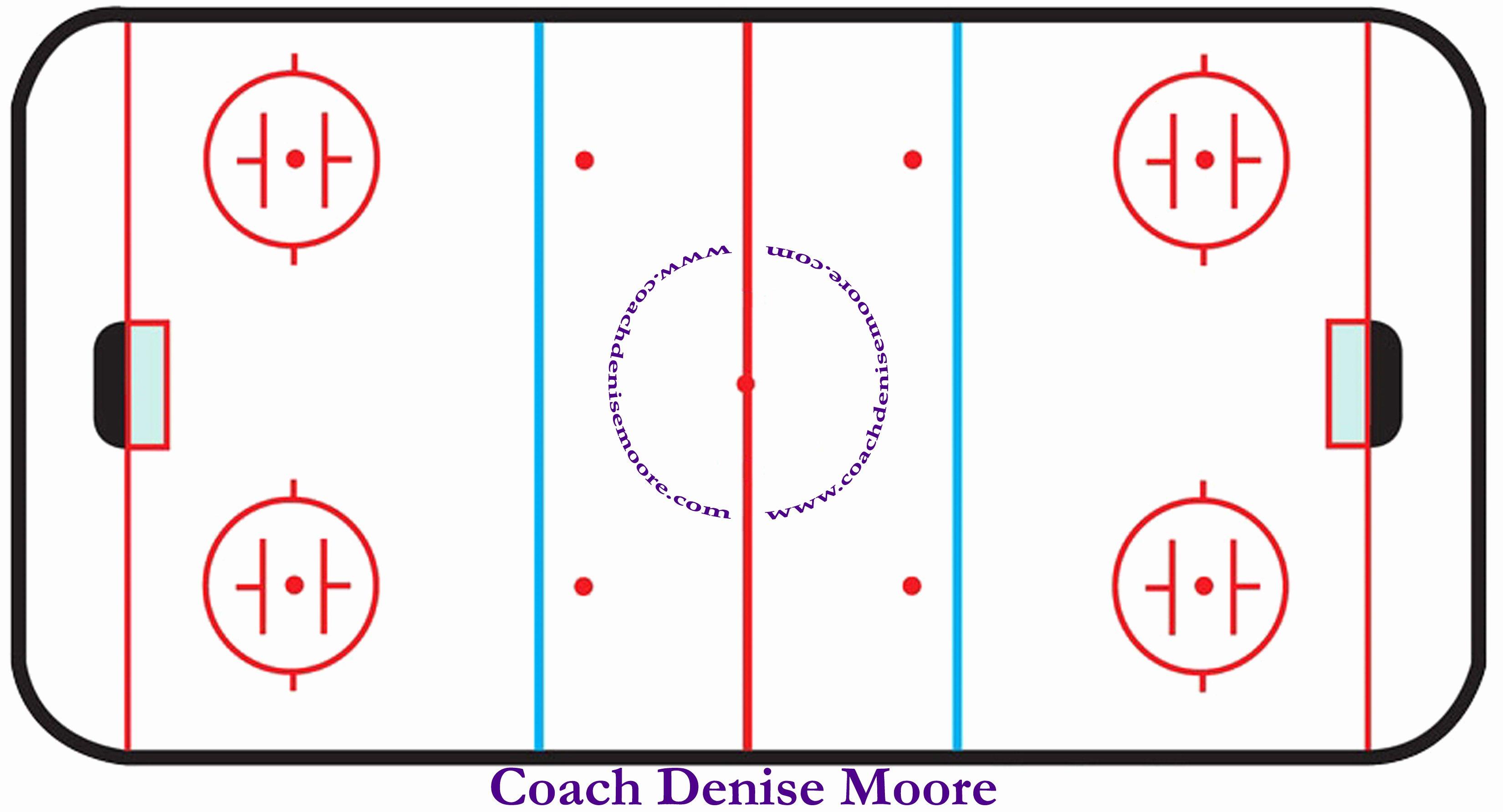 Hockey Practice Plan Template Luxury Hockey Rink Drawing at Getdrawings