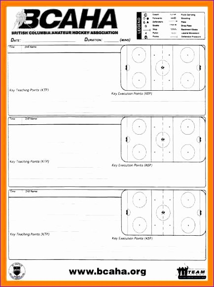 Hockey Practice Plan Template New 6 Meal Planning Template Excel Exceltemplates