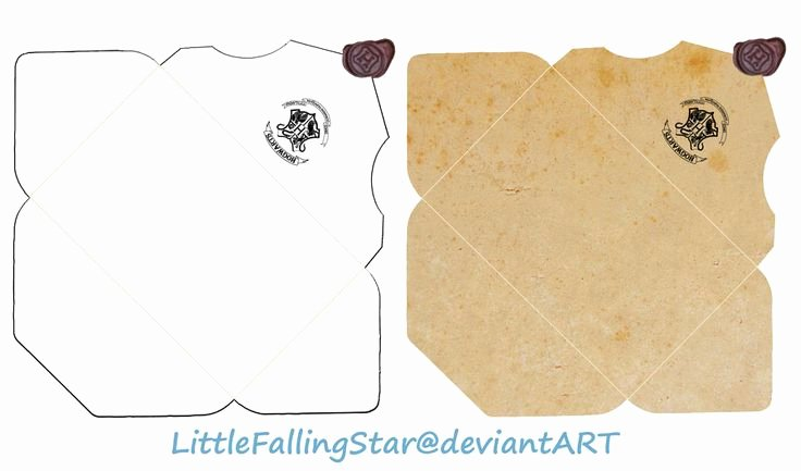 Hogwarts Envelope Printable Elegant Hogwarts Envelope by Littlefallingstarviantart On