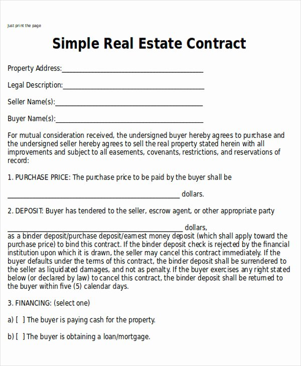 Home Buyout Agreement Awesome Sample Home Sales Contracts 7 Examples In Word Pdf