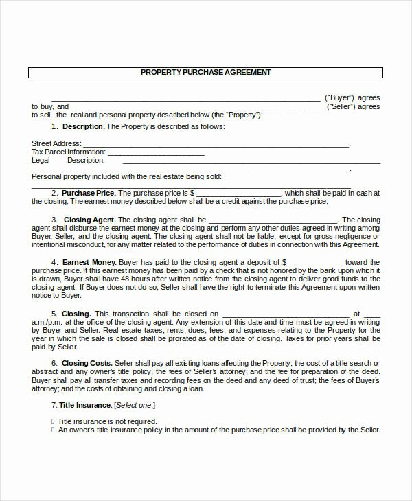 Home Buyout Agreement Template Best Of 13 Purchase Contract Templates Word Pdf Google Docs