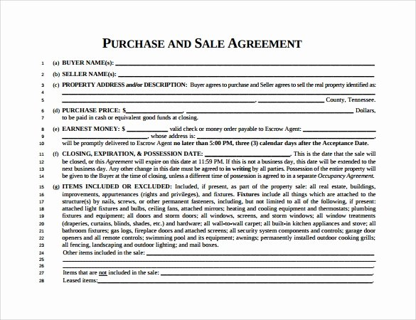 Home Buyout Agreement Template Luxury 7 Sample Home Purchase Agreements