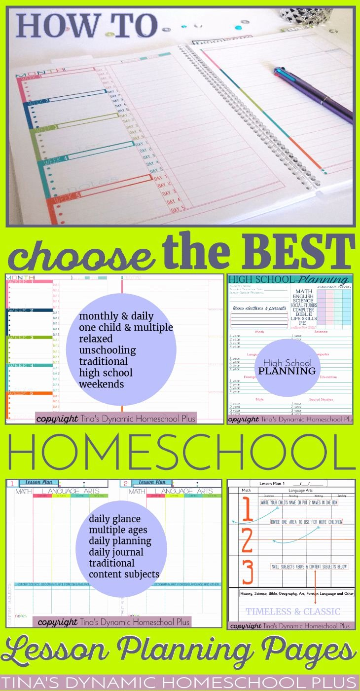 Homeschool Lesson Plan Template Best Of 17 Best Ideas About Lesson Planning On Pinterest