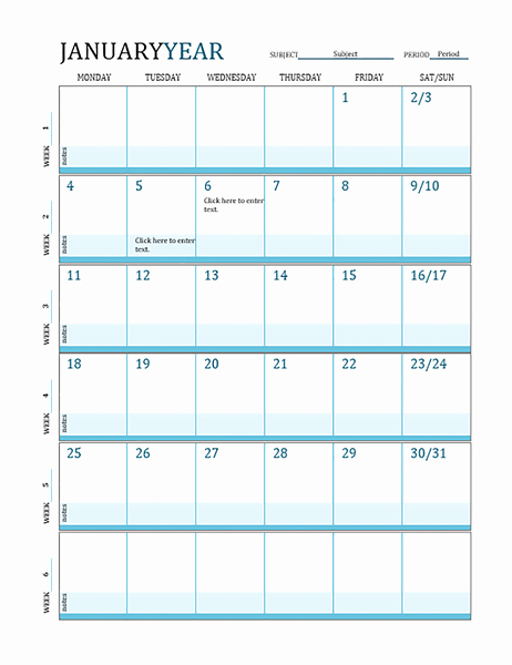 Homeschool Lesson Plan Template Excel Awesome Lesson Plan Calendar