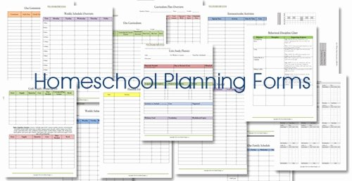 Homeschool Lesson Plan Template Lovely Homeschool Lesson Planner Floral
