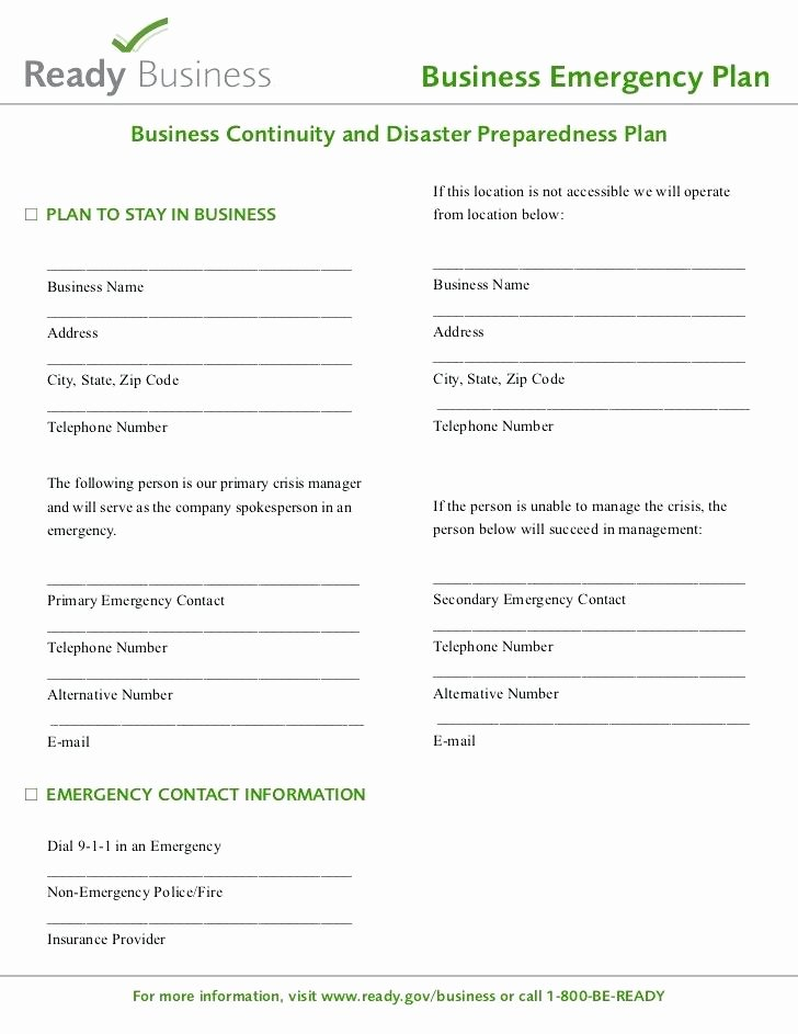 Hospital Emergency Preparedness Plan Template Awesome Disaster Plan Template Emergency Response Plan Templates