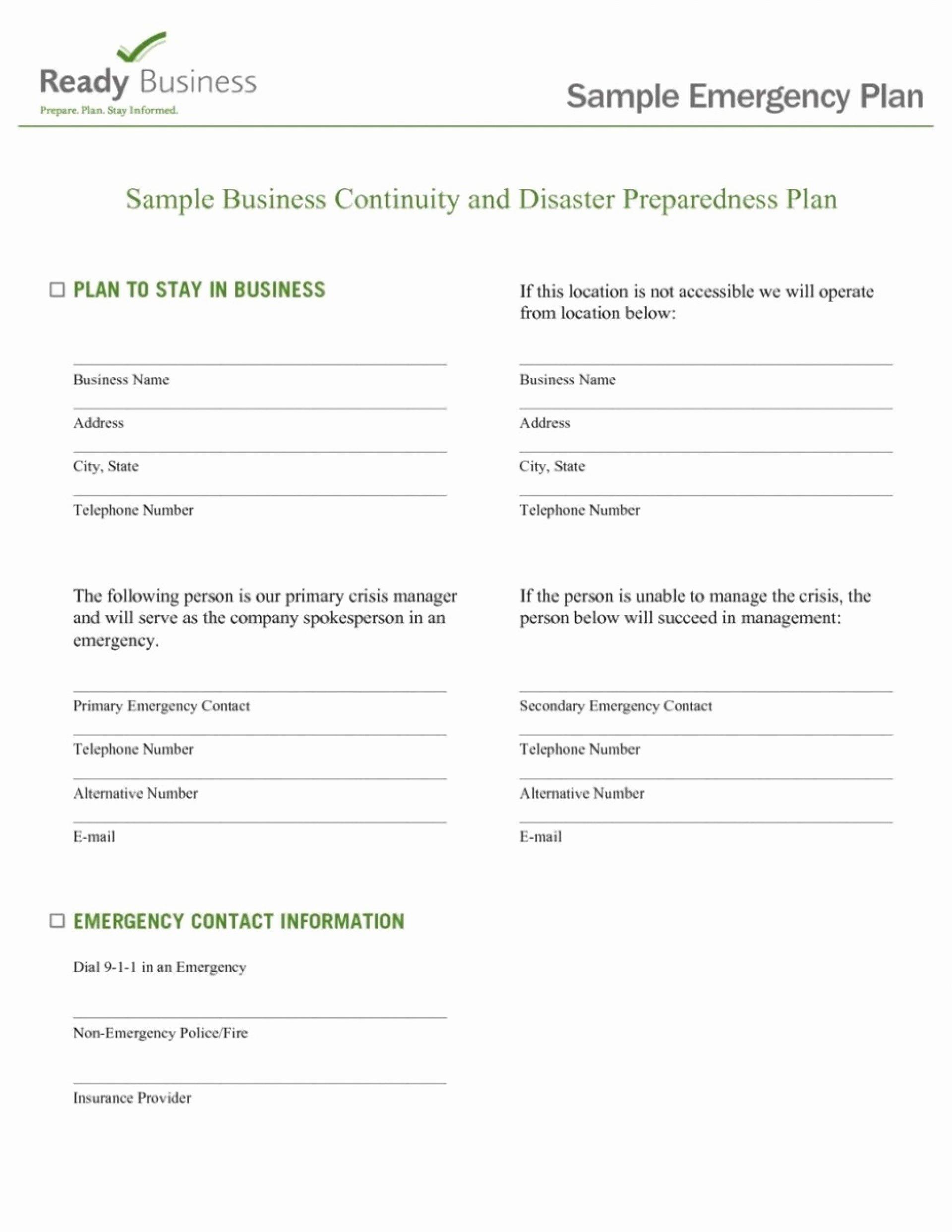 Hospital Emergency Preparedness Plan Template New Impressive Hospital Emergency Preparedness Plan Template