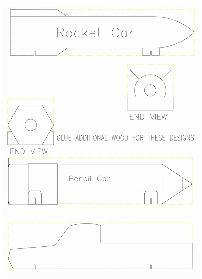 Hot Rod Pinewood Derby Car Template Best Of 23 Cool Pinewood Derby Templates Free Download