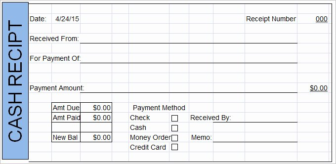 How to Get A Receipt Elegant Cash Receipt Template 19 Free Word Excel Documents