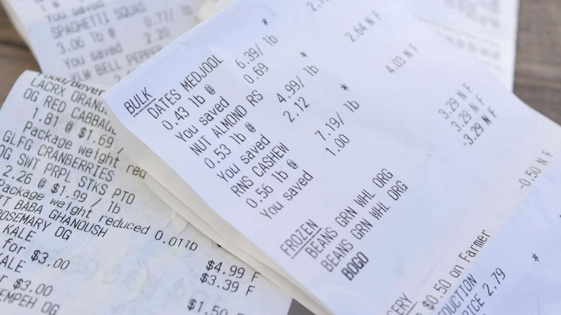 How to Get A Receipt Unique Bpa On Receipts Getting Under Our Skin