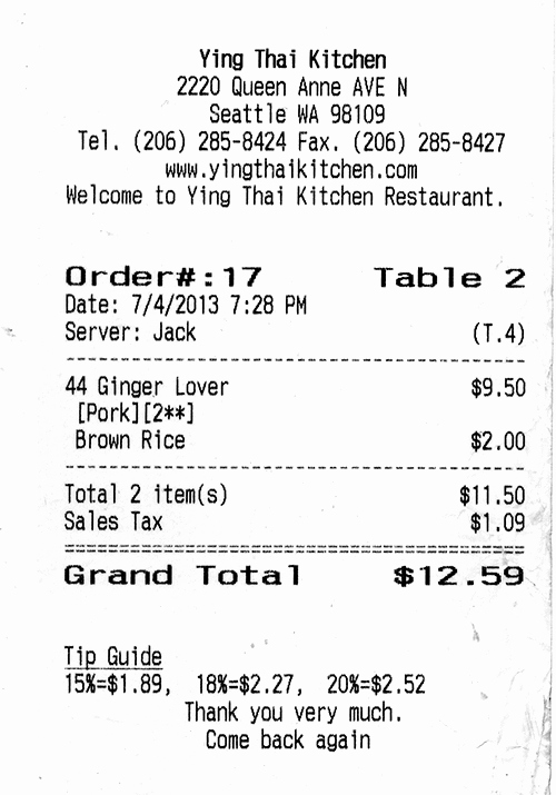 How to Print Receipt Awesome Receipt Restaurant Google Search Recipes Pos