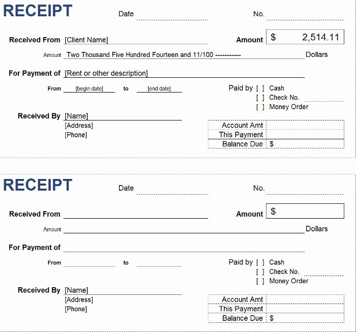 How to Print Receipts Luxury Free Petty Cash Receipt Templates