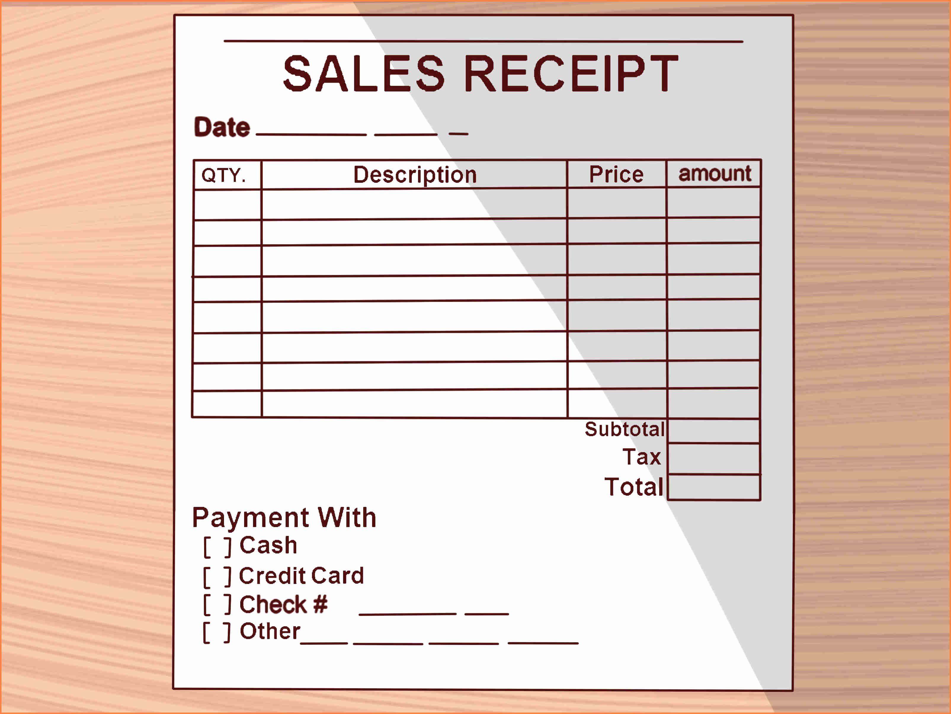 How to Write Receipt Awesome 10 How to Write A Receipt Of Payment