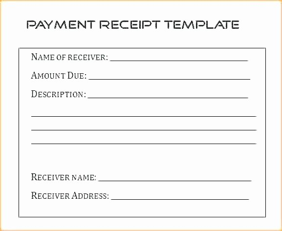 How to Write Receipt Elegant 10 How to Write A Receipt Of Payment