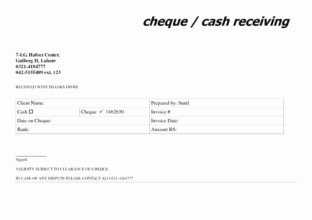 How to Write Receipt Elegant 14 How to Write A Receipt Of Payment