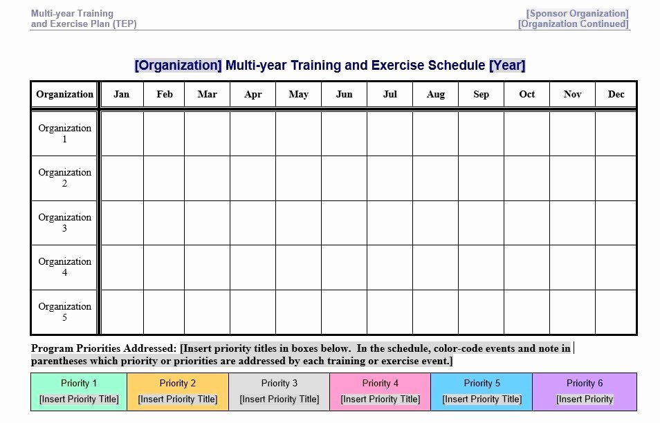 Hseep Exercise Plan Template Unique 8 Free Sample Exercise Schedule Templates Printable Samples